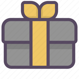 box, gift, gift box, present, shop, shopping, surprise icon