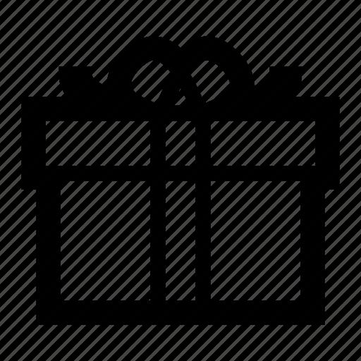 birthday, box, christmas, gift, present, ribbon icon