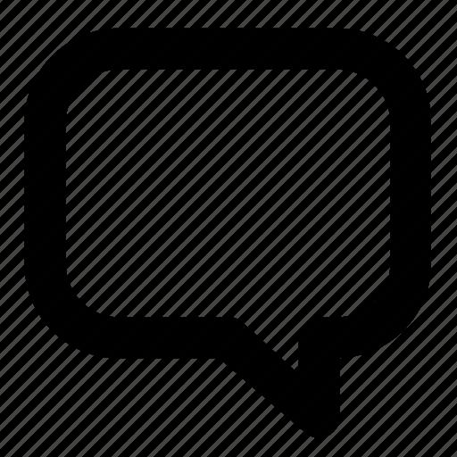 bubble, chat, conversation, speechbubble, speek, talk icon