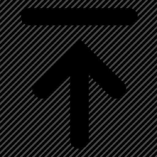 arrow, file, send, transfer, upload icon