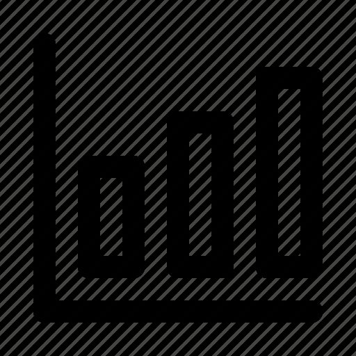 bar, business, chart, horizental, presentation, statistics icon
