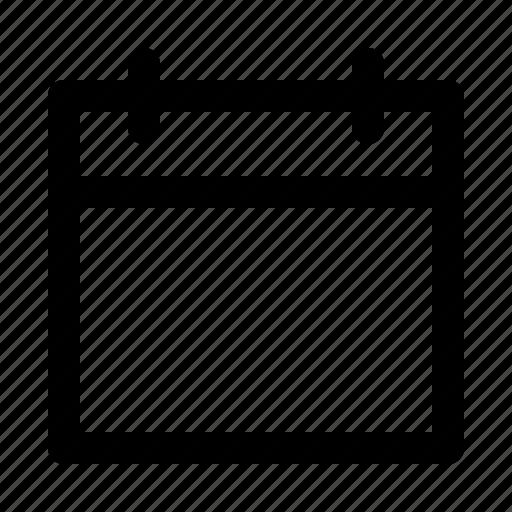 blank, calendar, date, scedule, year icon