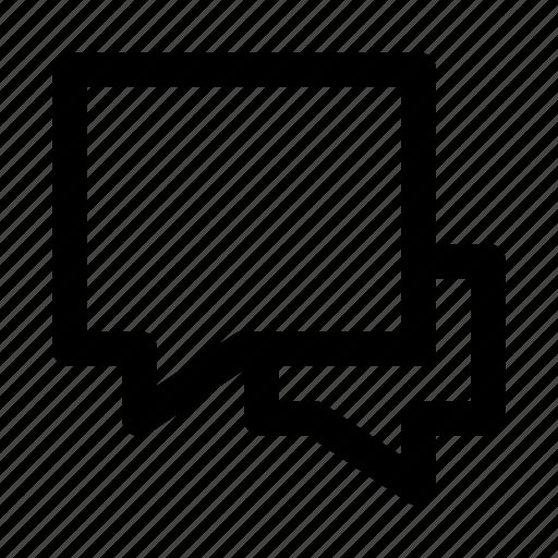 bubble, chat, comments, communication, speech icon