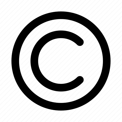 copyright, law, licence, protect, right icon