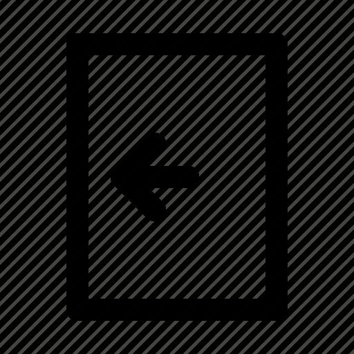 application, interface, logout, software, web icon