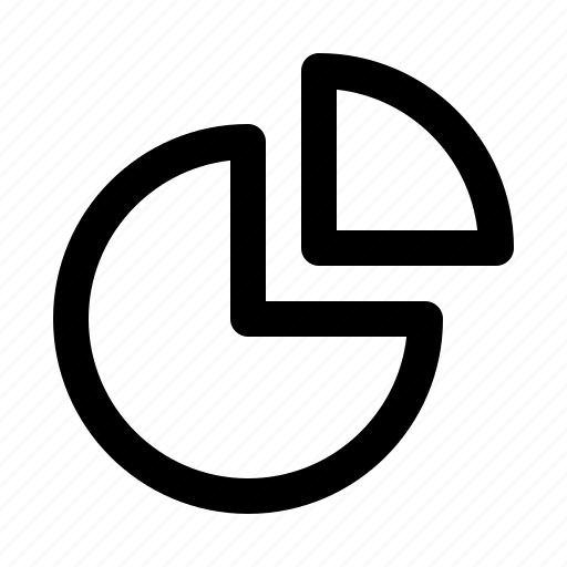 chart, pie, powerpoint, presentation, statisctics icon