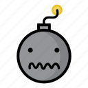 bomb, boom, confused, confusion, dynamite, explode, weapon icon