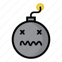 bomb, boom, dynamite, explode, sick, unwell, weapon icon