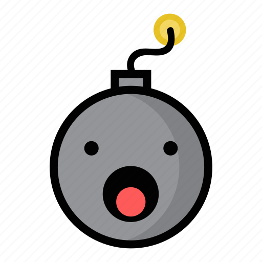 bomb, boom, dynamite, explode, shocked, surprised, weapon icon