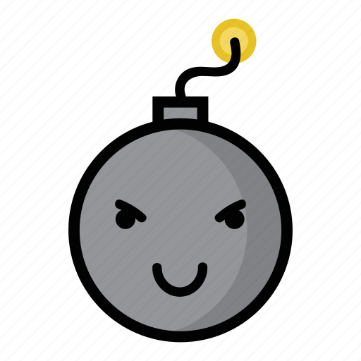 bomb, boom, dynamite, evil, explode, grin, weapon icon