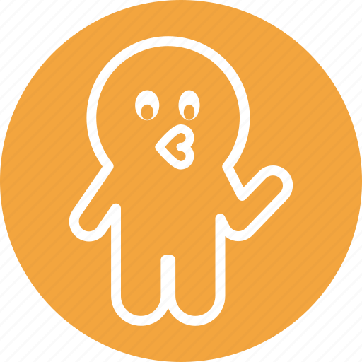boo, ghost, halloween, kiss, spooky icon