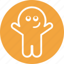 boo, ghost, halloween, irritate, spooky icon