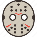 halloween, horror, jason, mask, party, scary, trick or treat icon