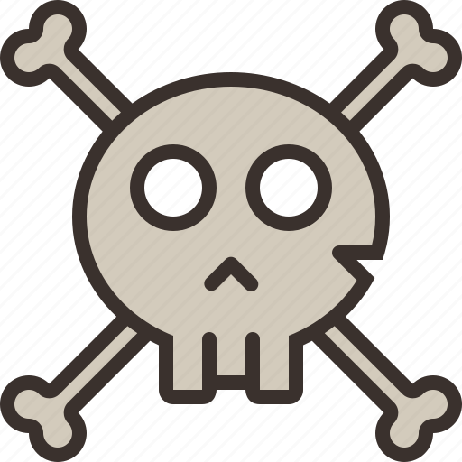 bones, halloween, horror, party, pirate, scull, trick or treat icon