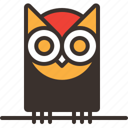 halloween, horror, night, owl, party, spooky, trick or treat icon