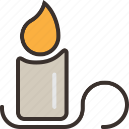 candle, halloween, horror, light, night, party, trick or treat icon