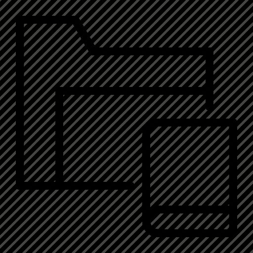 archive, book, data, folder icon