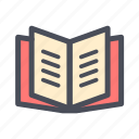 book, bookstore, document, education, file, learning, text icon