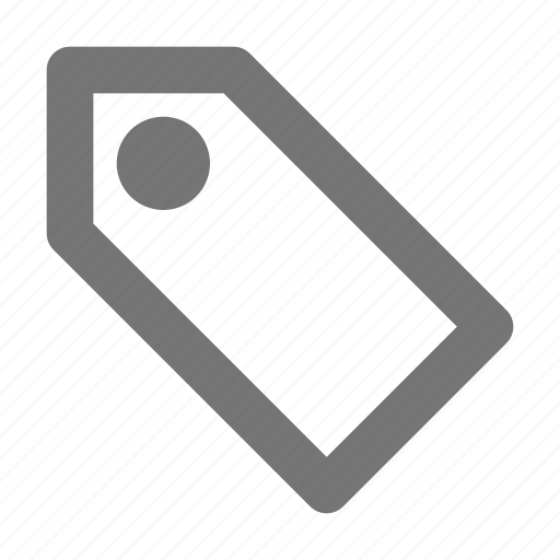 blank, bookmark, discount, label, price, tag icon