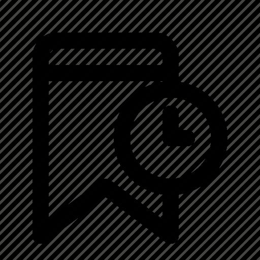 badge, bookmark, interface, process, ui icon