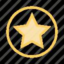 award, favorite, grade, prize, star
