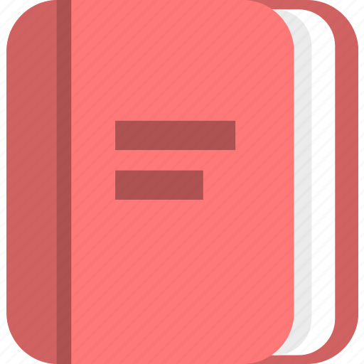 book, education, knowledge, learning, library, manual, university icon