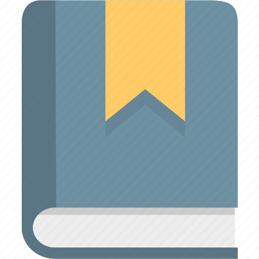 book, bookmark, education, knowledge, manual icon