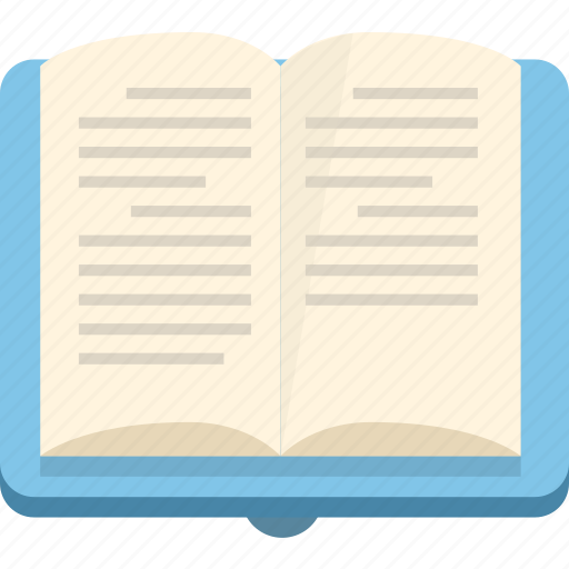 book, education, knowledge, learning, manual, reading, university icon