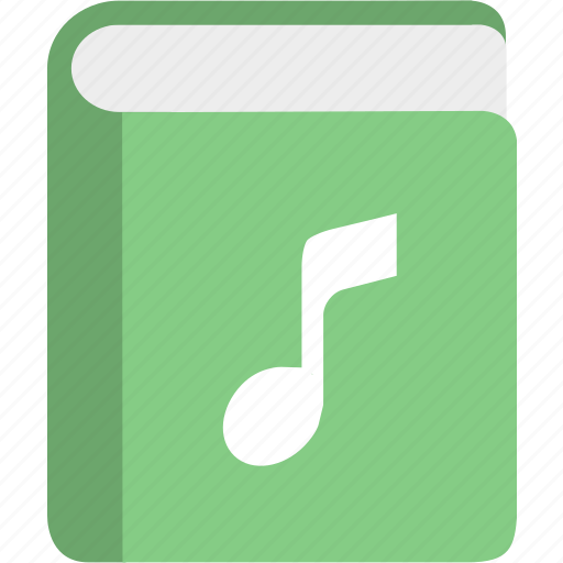 book, education, knowledge, learning, manual, music icon