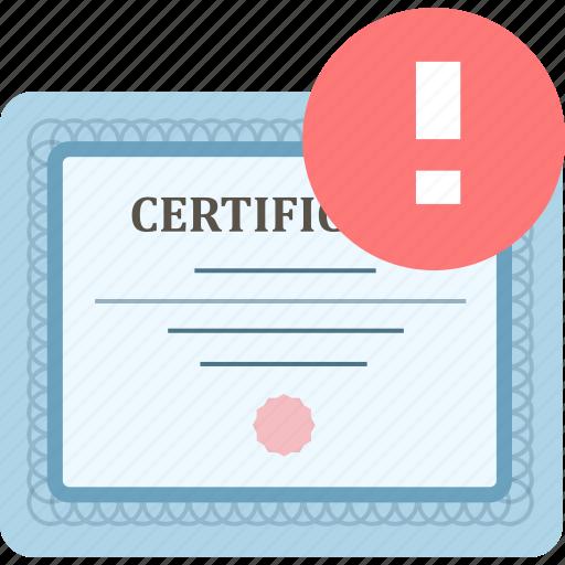 achievement, certificate, certification, certify, prove icon