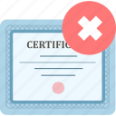 achievement, certificate, certify, graduation, prove icon