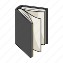 book, page, literature, textbook, paper icon