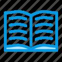 book, open, read, reading, syllabus