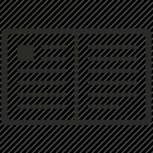 api, bible, book, open, text icon