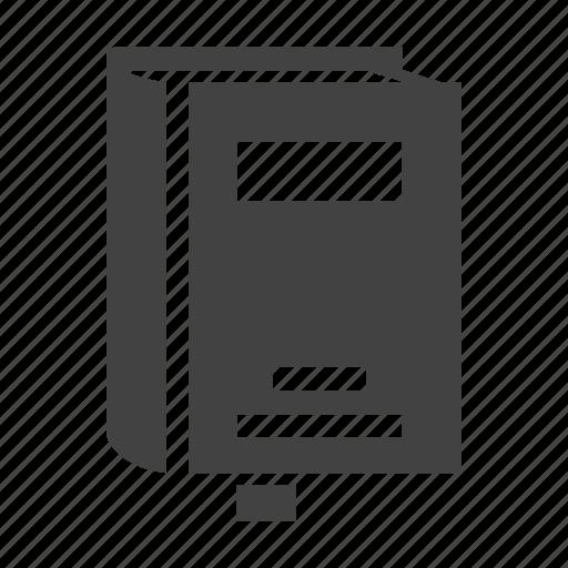 book, bookmark, read, reading icon