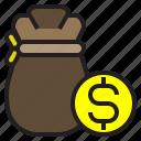 bag, business, dollar, finance, marketing, money, payment
