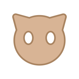 android, bot, brown, ears, eyes, round, virus icon