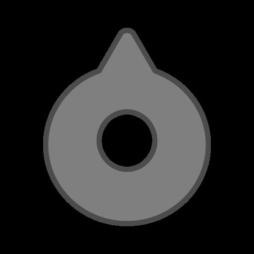 android, bot, dark, eye, point, round, virus icon