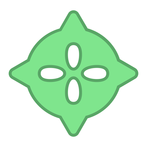 android, bot, droid, green, points, round, virus icon