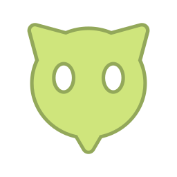 android, bot, eyes, green, points, round, virus icon