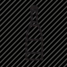 alcohol, bar, bottle, drinking, france, wine icon