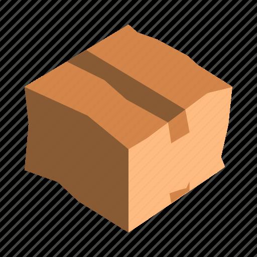 box, complaint, damaged, reclamation icon