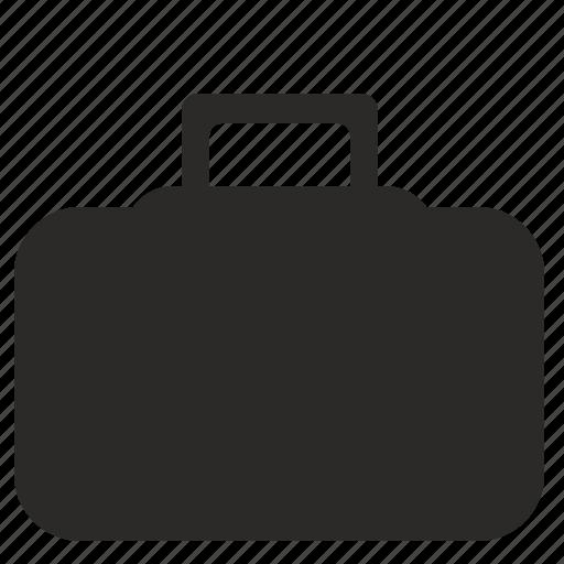 bag, box, diplomat, travel icon