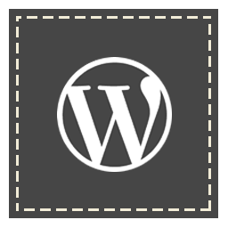 square, wordpress icon