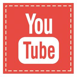 square, youtube icon