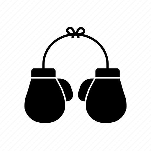 boxing, boxing gloves, sport, training icon
