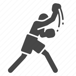boxer, boxing, boxing traing, fight, punch, sport, uppercut icon