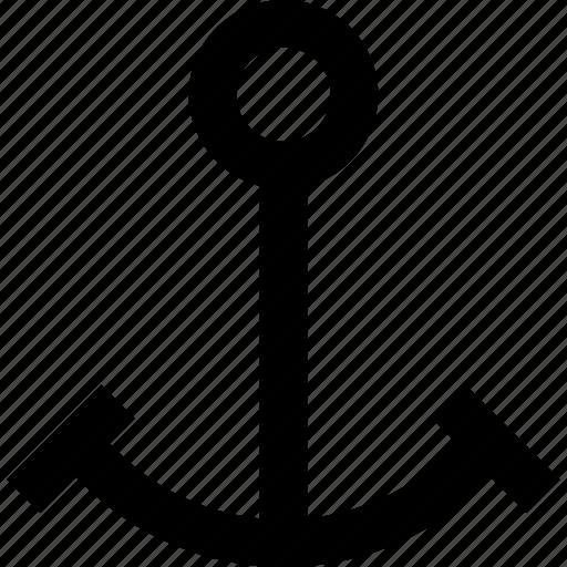 anchor, boat, marine, naval, parking, ship icon