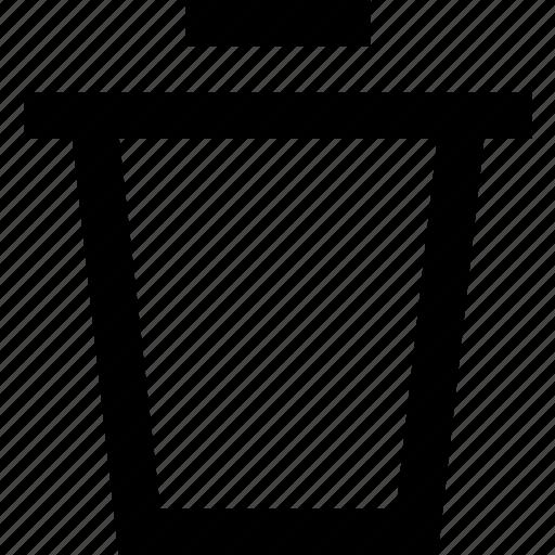 bin, can, dispose, trash, waste icon