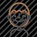 avatar, emoji, emoticon, face, happy, line, man
